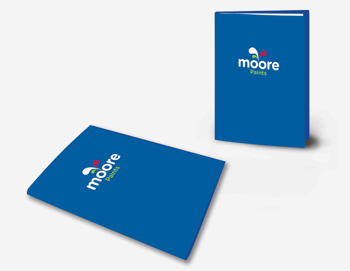Moore Paints Corporate Identity